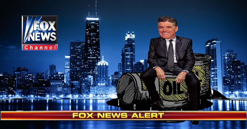 Sean Hannity – Billionaire after he discovered oil in the gunk underneath his fingernails