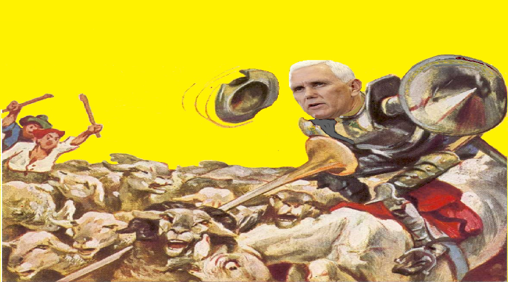 Mike Pence saves the world